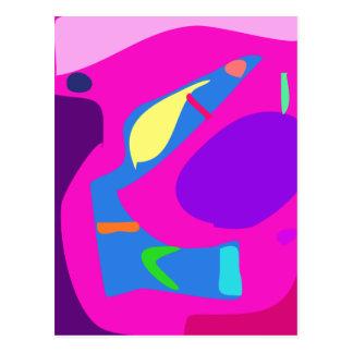 Many Blessing Modern Joyful Sense Variations 5 Postcard