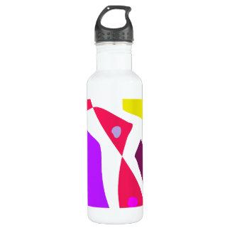 Many Blessing Modern Joyful Sense Variations 64 24oz Water Bottle
