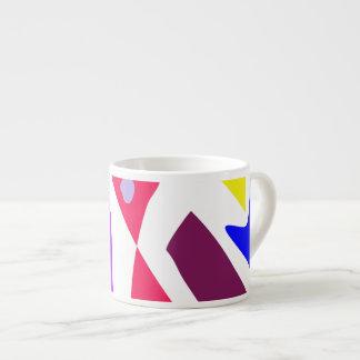 Many Blessing Modern Joyful Sense Variations 64 6 Oz Ceramic Espresso Cup