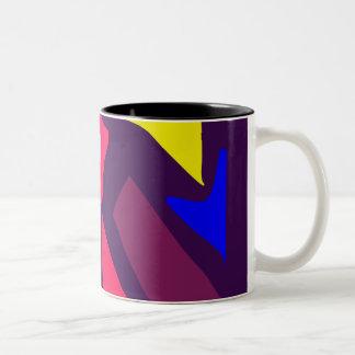 Many Blessing Modern Joyful Sense Variations 65 Two-Tone Coffee Mug