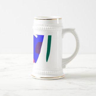 Many Blessing Modern Joyful Sense Variations 69 18 Oz Beer Stein