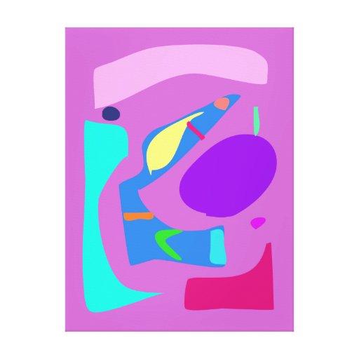Many Blessing Modern Joyful Sense Variations 6 Canvas Prints