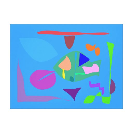 Many Blessing Modern Joyful Sense Variations 77 Canvas Print