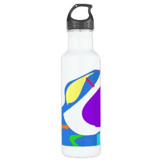 Many Blessing Modern Joyful Sense Variations 7 24oz Water Bottle