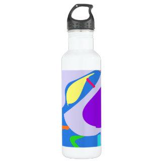Many Blessing Modern Joyful Sense Variations 8 24oz Water Bottle