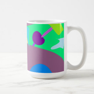 Many Blessing Modern Joyful Sense Variations 90 Classic White Coffee Mug