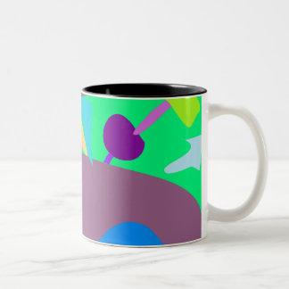 Many Blessing Modern Joyful Sense Variations 90 Two-Tone Coffee Mug