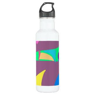 Many Blessing Modern Joyful Sense Variations 90 24oz Water Bottle
