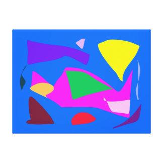 Many Blessing Modern Joyful Sense Variations 97 Canvas Print