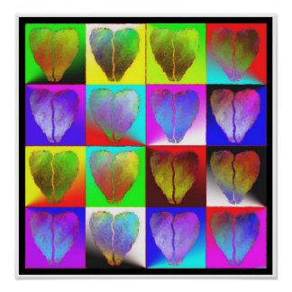 many broken hearts print