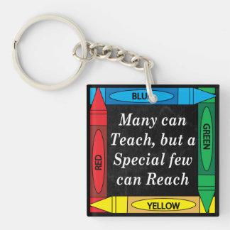Many Can Teach, Special Teacher can Reach Keychain