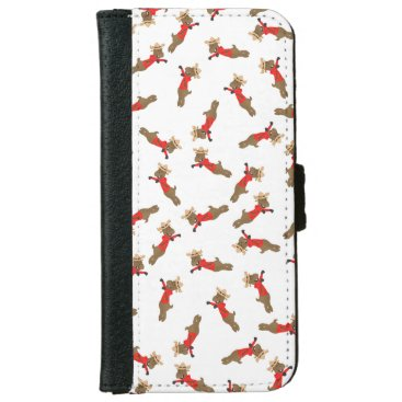 Many Canadian mounted deer iPhone 6/6s Wallet Case