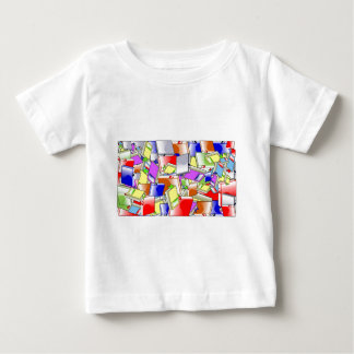Many Colorful Books Baby T-Shirt
