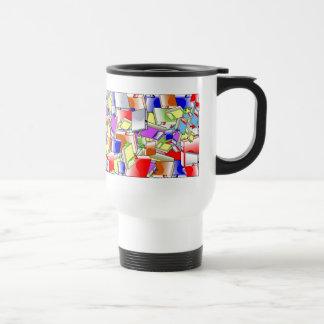 Many Colorful Books Travel Mug