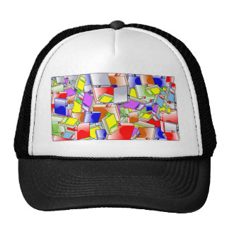 Many Colorful Books Trucker Hat