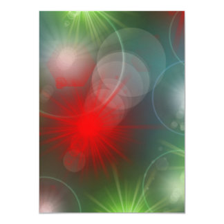 many colorful little sun, lights card