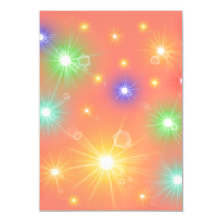 many colorful little sun, lights magnetic card