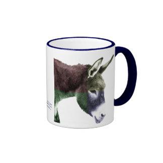 Many Colors Burro Donkey Ringer Mug