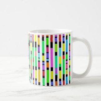 Many Colourful Stripes Coffee Mug
