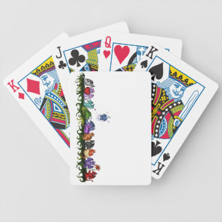 many cute Dragons Bicycle Playing Cards