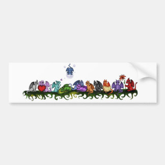 many cute Dragons Bumper Stickers