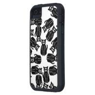 Many Cute Halloween Cartoon Cat Skeletons iPhone 5 Cover