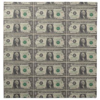 Many Dollars Cloth Napkin