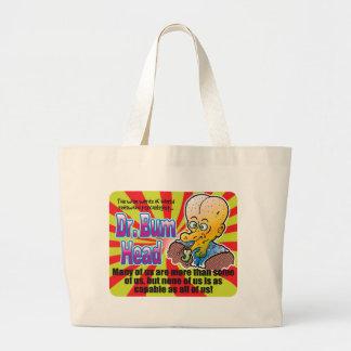 Many, Dr Bum Head Canvas Bag