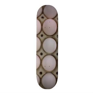Many eggs custom skateboard