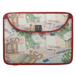 Many Euro banknotes Sleeves For MacBook Pro