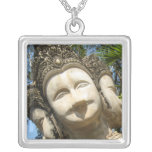 Many Face Wai ... Nong Khai, Isaan, Thailand Personalized Necklace