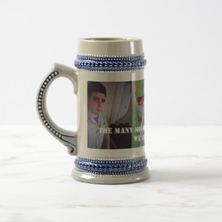 Many Faces Beer Stein Coffee Mug