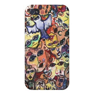 MANY FACES IPHONE CASE