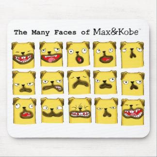 many faces M&K light MOUSE PAD