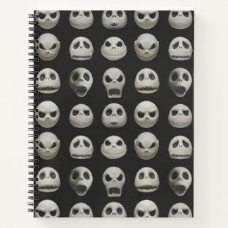 Many Faces of Jack Skellington - Pattern Notebook