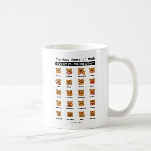 Many Faces of Milo Mug