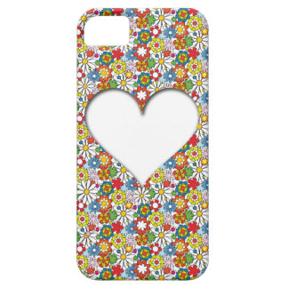 Many Flowers and A big Heart iPhone SE/5/5s Case