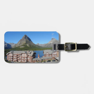 Many Glacier Hotel -Glacier National Park Luggage Tag