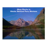 Many Glacier in Glacier National Park, Montana Postcards