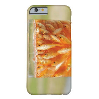 Many goldfish which are in the glass container barely there iPhone 6 case