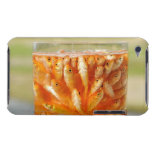 Many goldfish which are in the glass container iPod touch case
