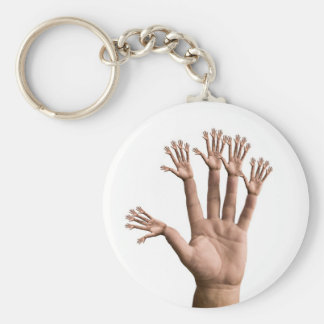 Many Hands Key Chains