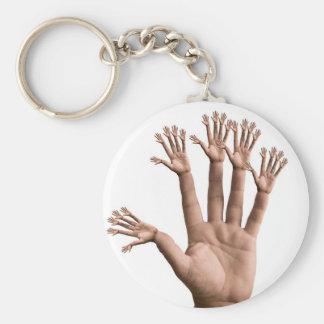 Many Hands Keychain