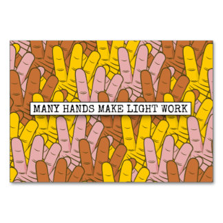 many hands make work light