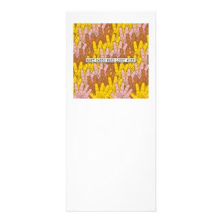 Many Hands Make Light Work Rack Card