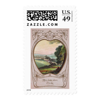 Many Happy Returns Valley Vignette Postage
