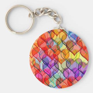 many hearts keychain