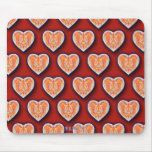 Many Hearts Mouse Pad