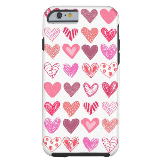 Many Hearts Tough iPhone 6 Case