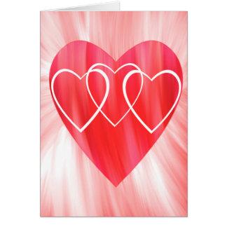 Many Hearts Valentine's Day Card